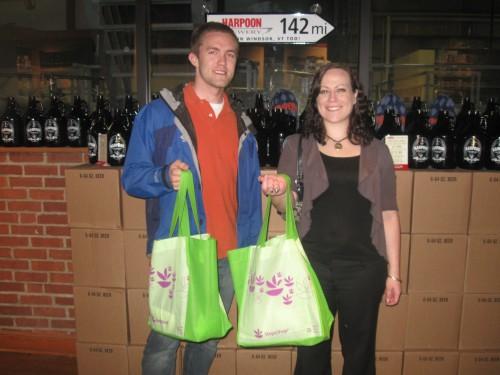 (L-R) Kevin Karner and Megan McAvoy